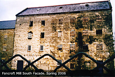 derelict mill before renovation